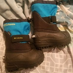 New Columbia toddler snow boots